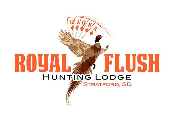 Pheasant Hunting Lodge Logo