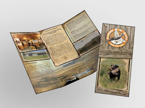 Hunting Ranch Brochure Design