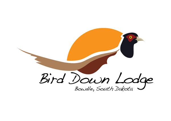 Pheasant Hunting Lodge Logo Design