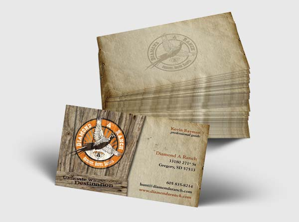 Hunting Business Cards