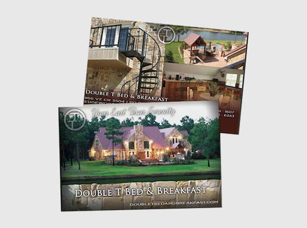 Bed & Breakfast Postcards