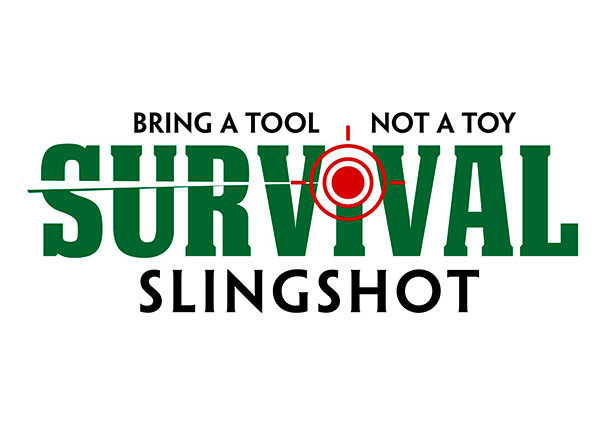 Survival Slingshot Custom Logo