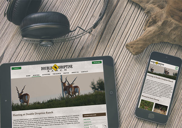 Hunting Ranch Website Design