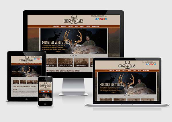Deer Breeder Web Design