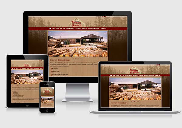 Lumber Yard Web Design