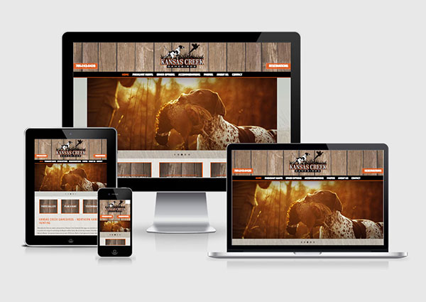 Upland Hunting Website Designs