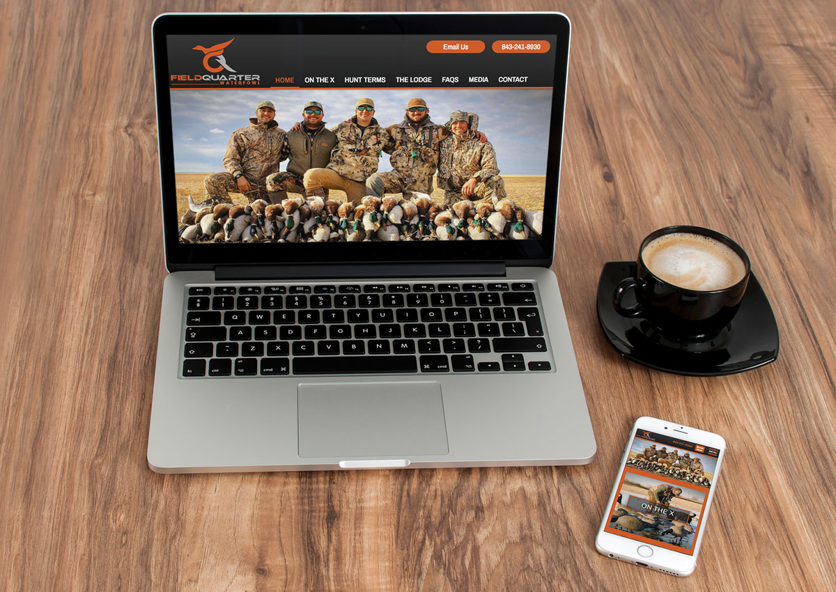 Waterfowl Hunting Web Design
