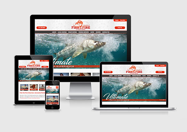 Fishing Charters Web Design