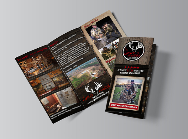 Whitetail Hunting Outfitter Brochures