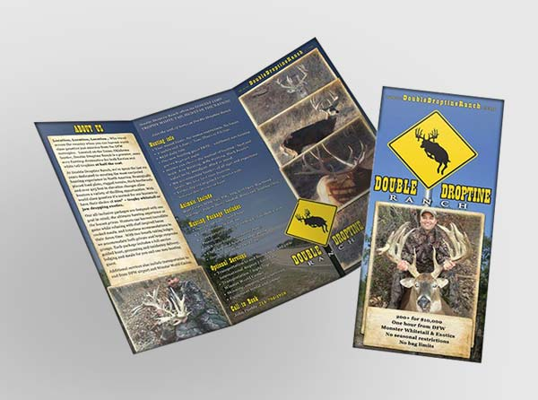 Hunting Brochure Design