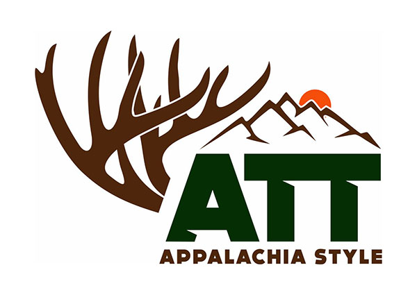 Whitetail Rack Mountain Logo Design
