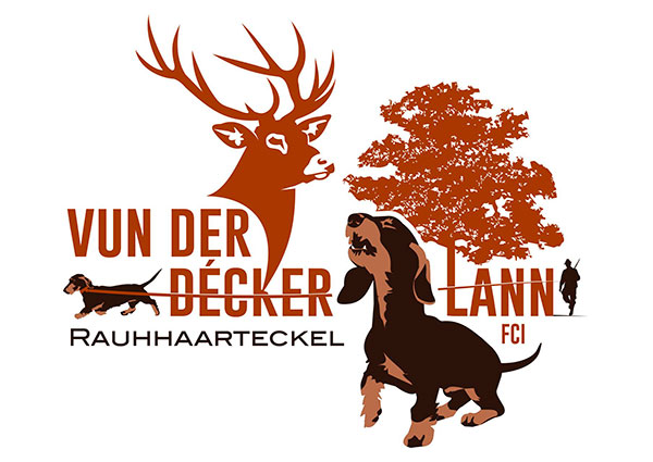 Wirehaired Dachshund Kennel Logo Design