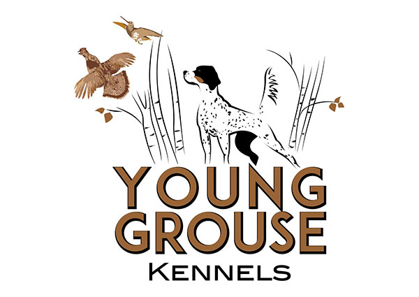 Young Grouse Kennels Logo Design