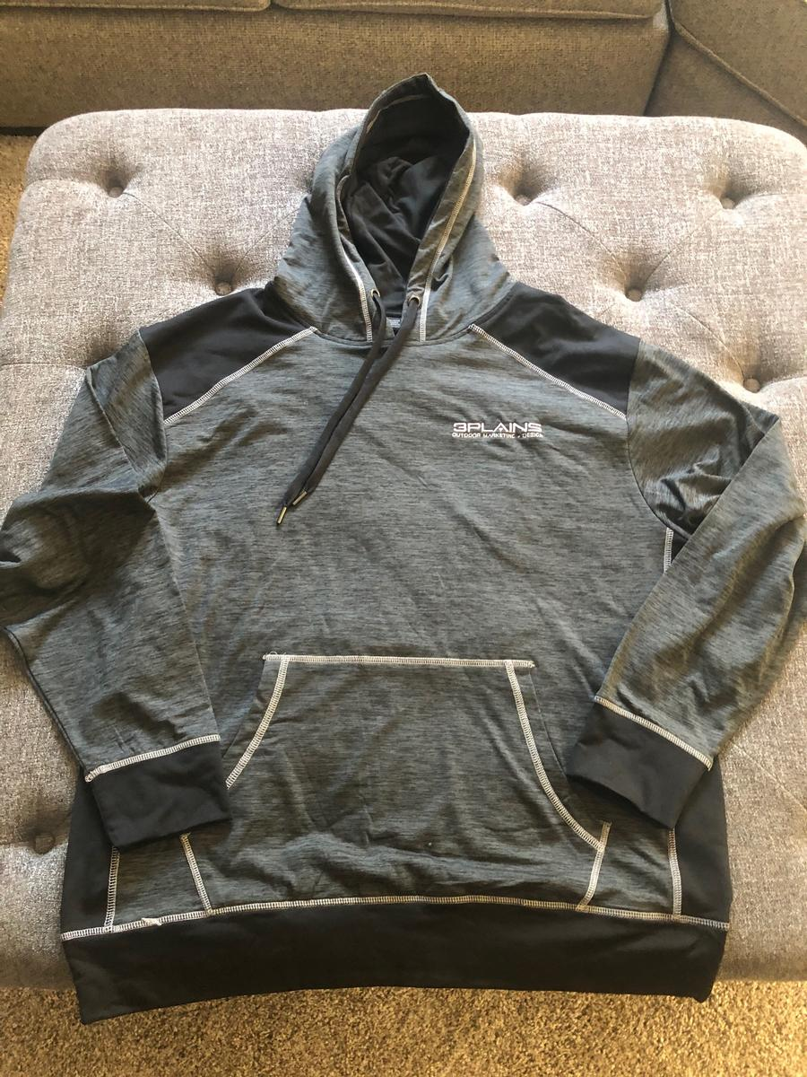 3plains Dark Grey Hoodie